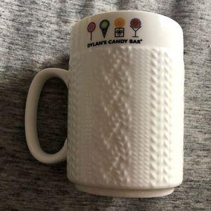 Dylans Candy Bar white ceramic mug
